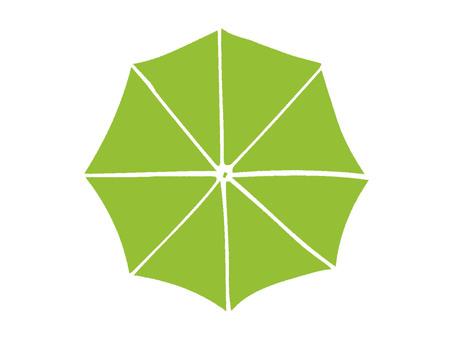 傘yellow green