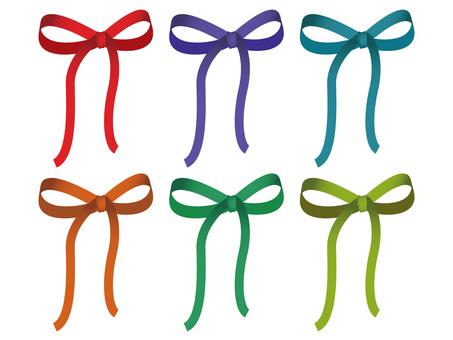 Ribbon colorful
