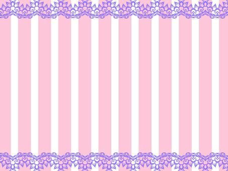 배경 핑크 레이스