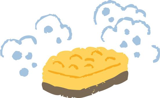 스폰지 (노란색)