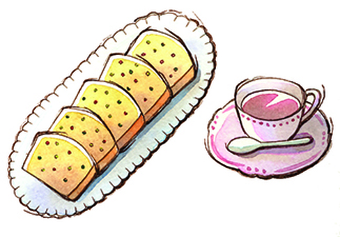 パウンドケーキのセット
