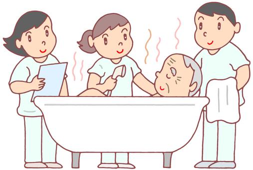 Visit bathing