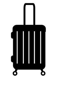 Suitcase part 2 (silhouette)