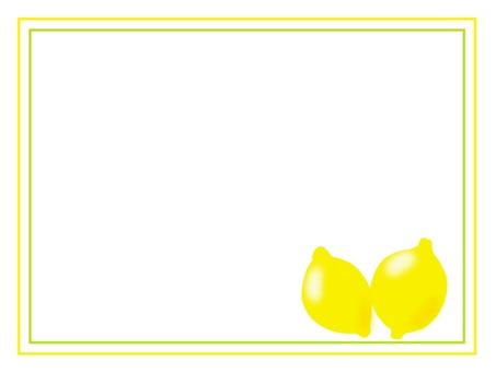 안아 레몬 프레임