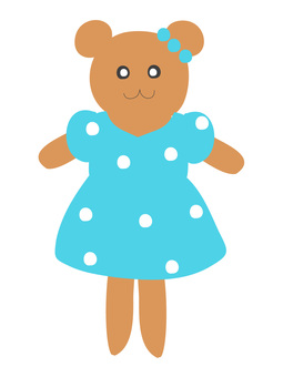 Fashionable bear 1