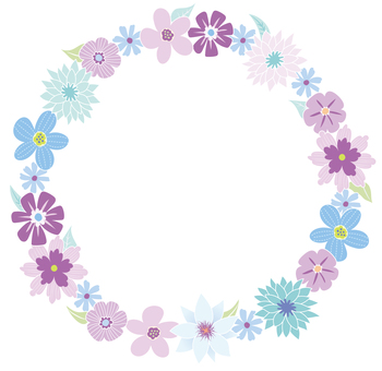 Cool flower wreath