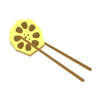 Lenp and chopsticks