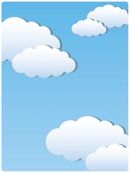 藍藍的天空