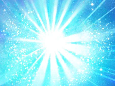 Light blue sparkling background