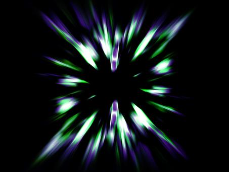Zoom 13 (black violet green)