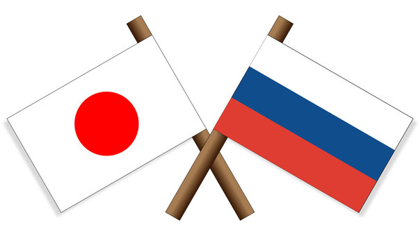 Flag Japan × Russia