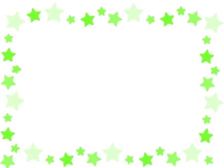 Yellow green star