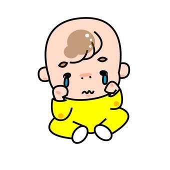 寶貝'哭'