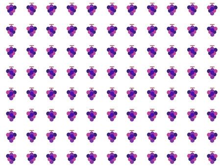 Grape wallpaper (white)