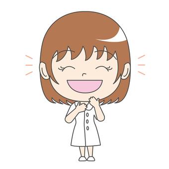 Nurse A: Front: Laughter