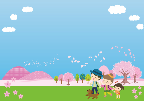 Spring excursion illustration