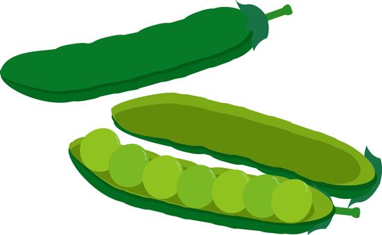 음식 시리즈 야채 그린피스
