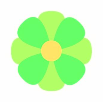 Flower green