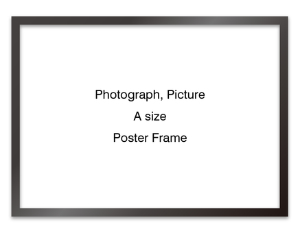 Poster frame sideways (black)