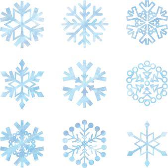 Snow crystal 02_01
