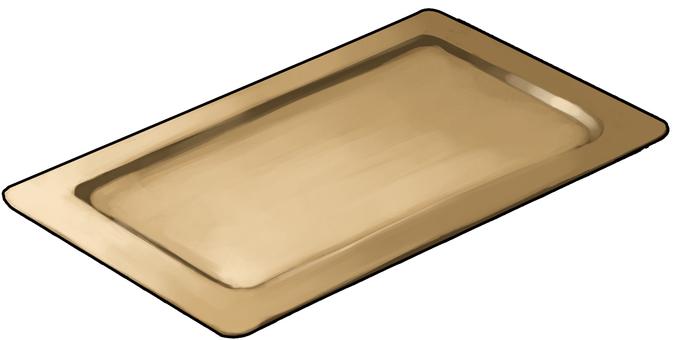 Corner dish