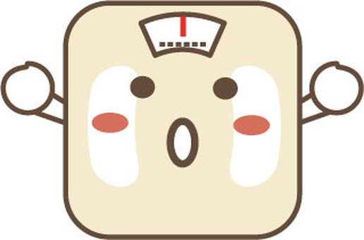 Weighing scale character 2