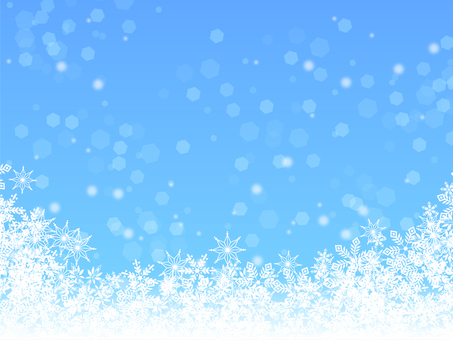 Snow · crystal · winter · background · cold