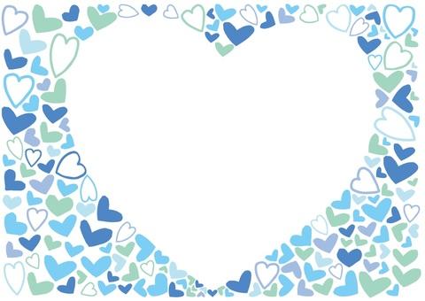 White day heart