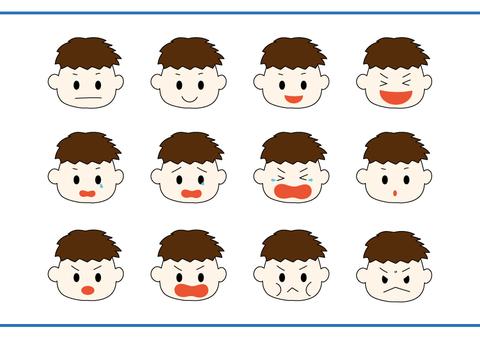 男の子_表情