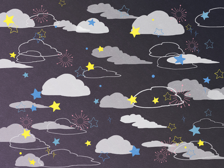 Clouds and stars 02