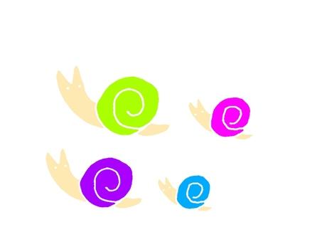 Snail color