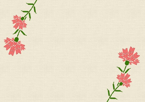 Carnation embroidery 1