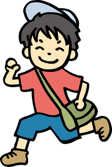 Children who travel and excursion