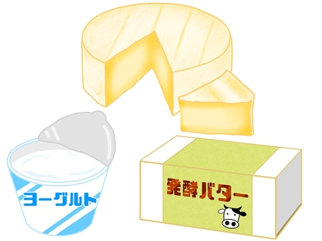 Dairy product set