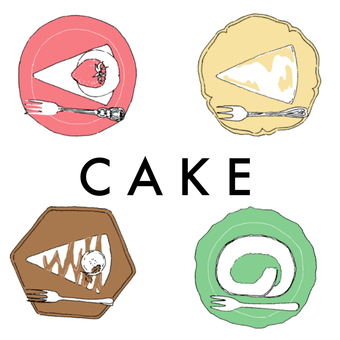 Four cakes / color