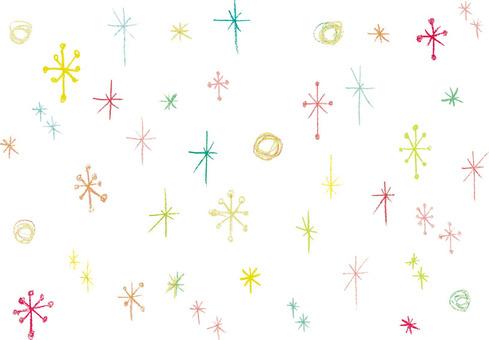 Handwriting - Crayons - Glitter