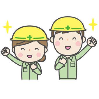 Workers - Gender pair