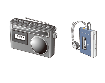 Old-style electric appliances 1