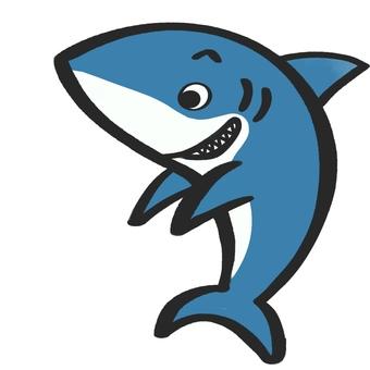 Papa shark