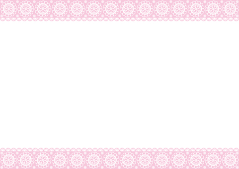 Frame - Cuddly Lace - Pink