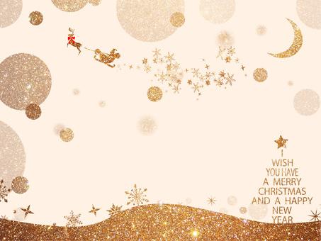 Christmas frame ver 43