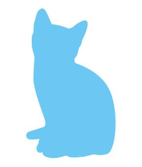 Cat's silhouette 02