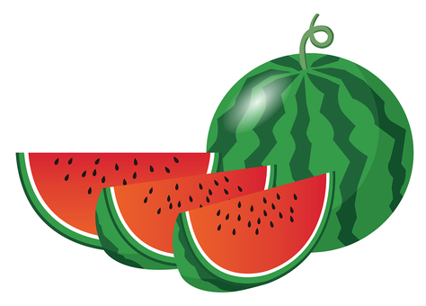 Watermelon cut 01