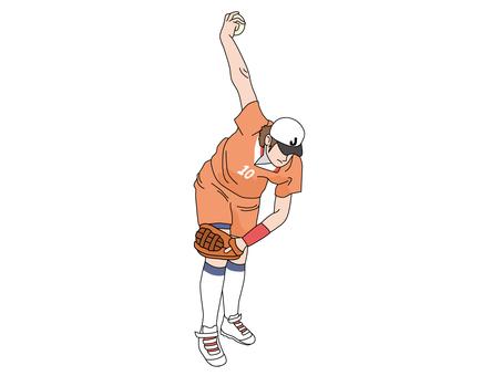 Softball (pitcher) 2