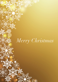 Christmas _ Gold _ Vertical background 2176