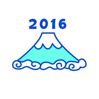 Mt. Fuji in 2016