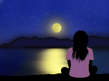 Moonlight bath