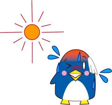 熱中症・ペンギン