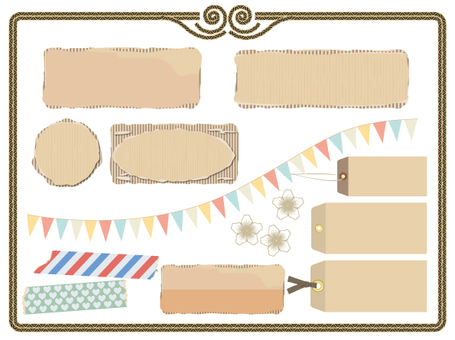 Cardboard material 01