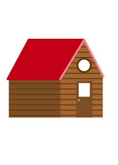 Mountain hut (red)